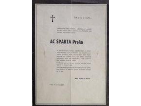 Parte AC Sparta Praha, 1975Parte AC Sparta Praha, 1975