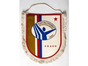 Vlajka Spartakiáda, 1980Vlajka Spartakiáda, 1980