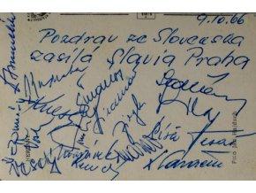 Pozdrav ze Slovenska zasílá Slavia, 1966Pozdrav ze Slovenska zasílá Slavia, 1966 (2)
