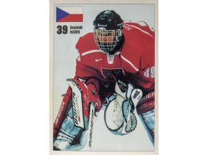 Pohlednice Dominik Hašek, hokej, Czech republicPohlednice Dominik Hašek, hokej, Czech republic (2)