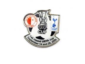 Odznak Slavia Praha vs. Totenham Hotspur, 1st R UEFA cup 20061 (26)