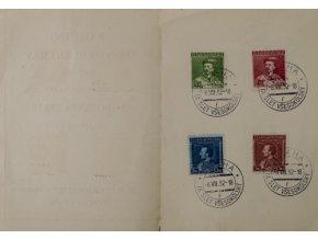 Pamětní poštovní známky, sté narozeniny M.Tyrše, 1932 IPamětní poštovní známky, sté narozeniny M.Tyrše, 1932 I (2)