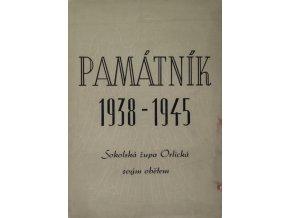 Památník , 1938 1945, Sokolská župa Orlická svým obětem.Památník , 1938 1945, Sokolská župa Orlická svým obětem.