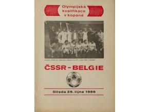 Program ČSSR vs. Belgie, 1986DSC 9190