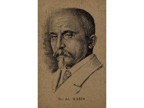 Pohlednice Dr.Al.Rašín
