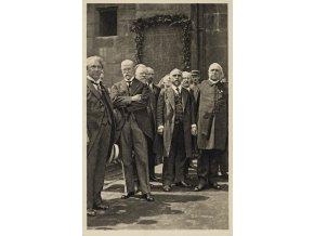 Pohlednice Dr.Al.Rašín, T.G. Masaryk a dalšíPohlednice Dr.Al.Rašín, T.G. Masaryk a další (1)