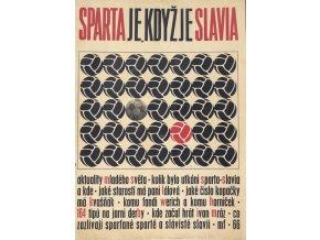 Časopis MS, Spart je , když je Slavia, 1964Časopis MS, Spart je , když je Slavia, 1964 (1)