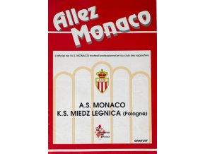 Program Allez Monaco, Monaco vs. K.S. Miedz LegnicaProgram Allez Monaco, Monaco vs. K.S. Miedz Legnica