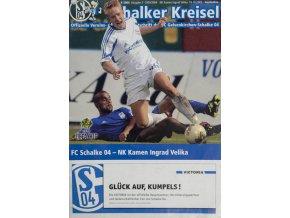 Program Schalker Kreisel, FC Schalke vs. NK Kamen Ingrad Velika, 2003Program Schalker Kreisel, FC Schalke vs. NK Kamen Ingrad Velika, 2003