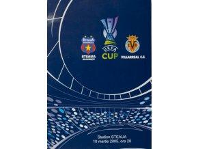 Program Steaua vs.Villareal, 2005Program Steaua vs.Villareal, 2005