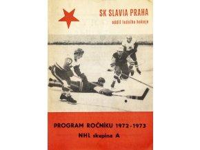 Program SK Slavia Praha, hokej, 19721973Program SK Slavia Praha, hokej, 19721973 (1)