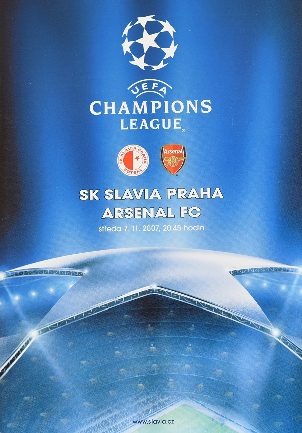 UEFA CHAMPIONS LEAGUE SLAVIA vs. ARSENAL FC