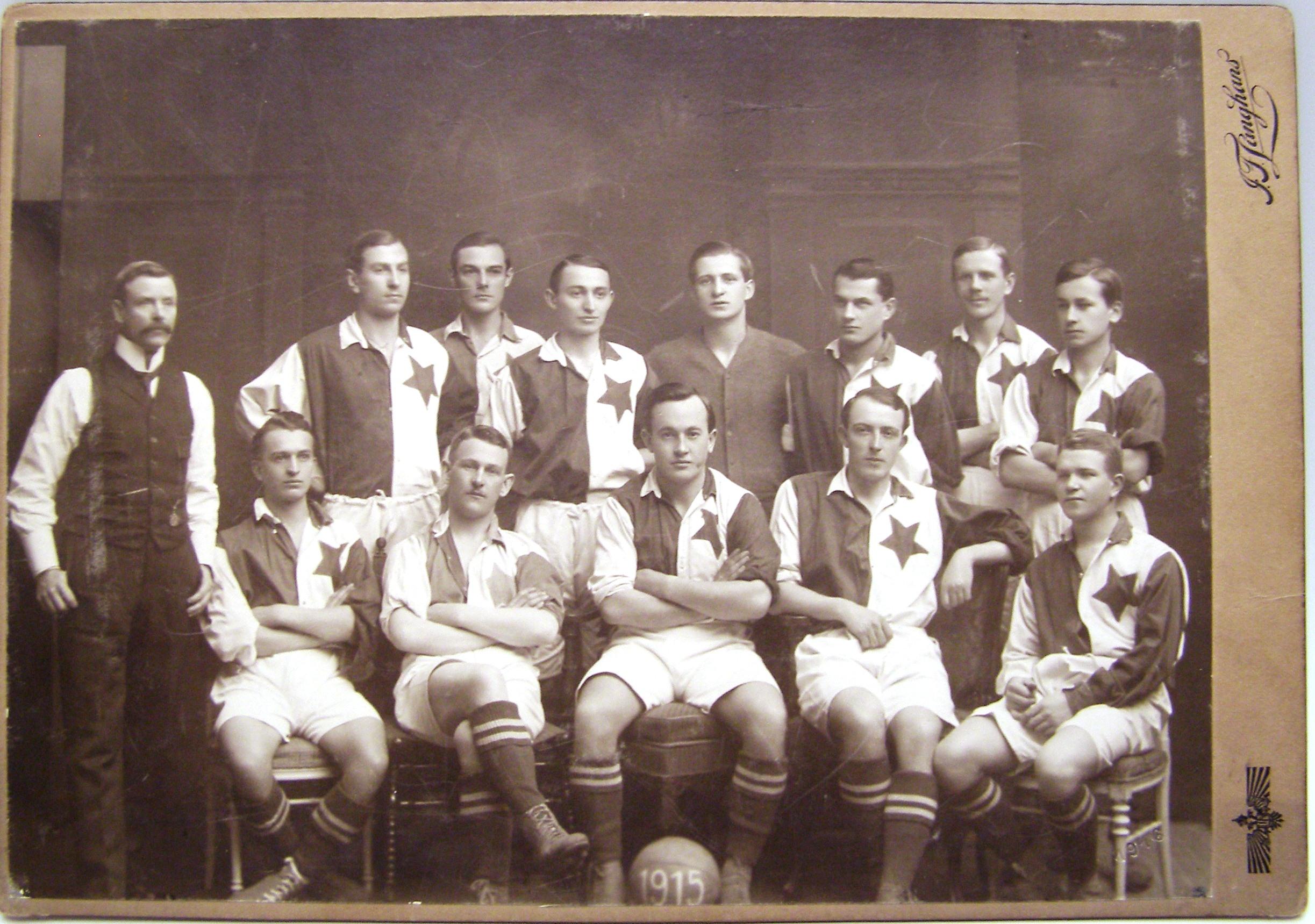 Fotografie SK SLAVIA PRAHA 1915