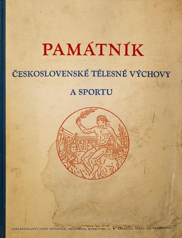 Památník Československého fotbalu, kapitoly slavných událostí,svázaný, 1947