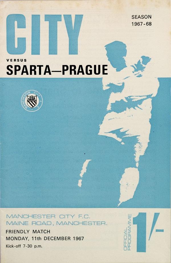 Program Manchester CITY vs. SPARTA Praha