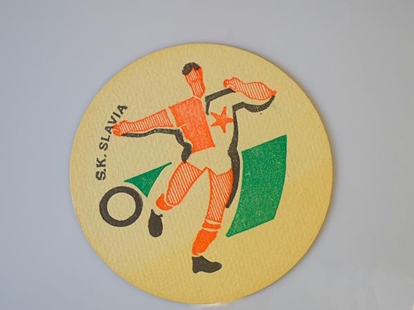 Pivní tácek SK SLAVIA