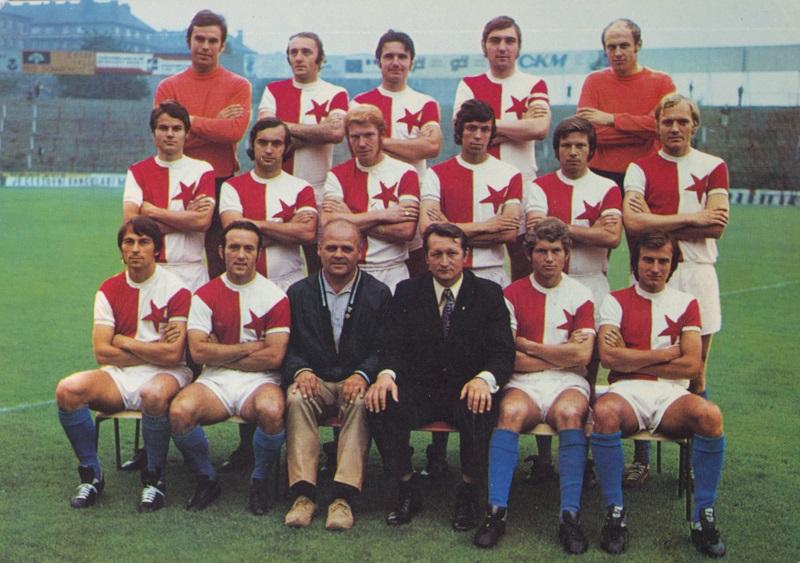 16 ligových klubů ČSSR 1972 1973