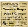 Vstupenka fotbal Tottenham vs. Dukla Prague