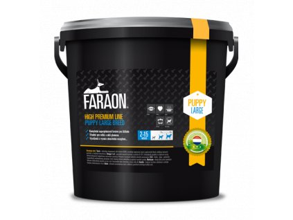 faraon high premium puppy large breed granule 10 kg 100 1