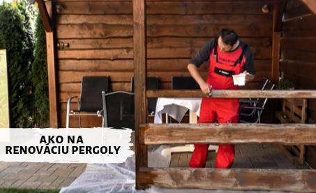 Jak na renovaci pergoly