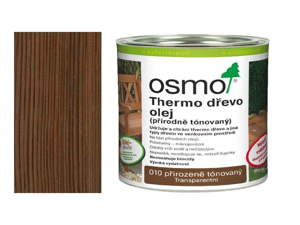 TERASOVÉ OLEJE 010 Thermo dřevo přírodně tónovaný 0,75 l