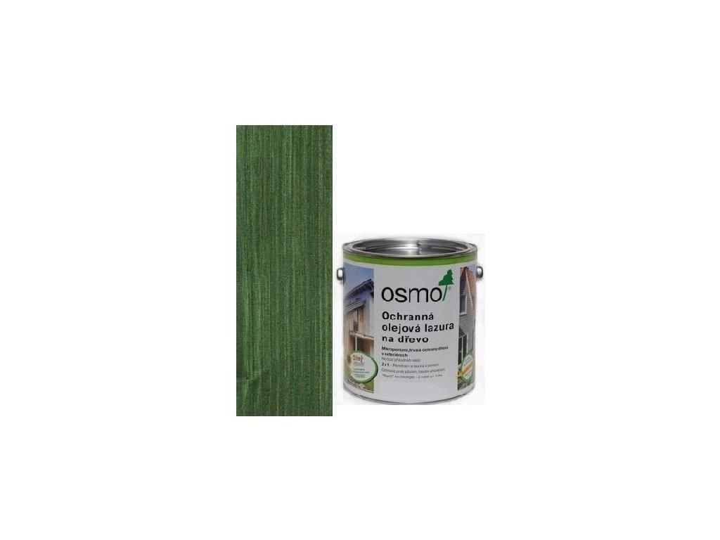 Osmo Ochranná olejová lazúra 0,75L 729 jedľovo zelená
