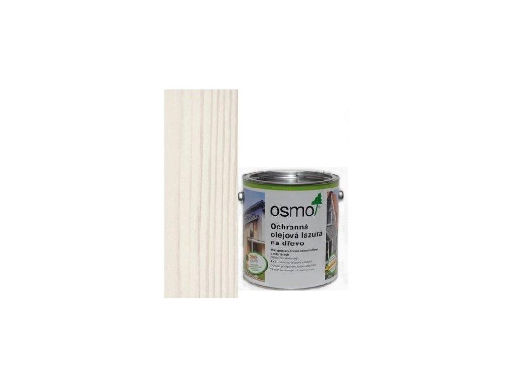 Osmo Ochranná olejová lazúra 0,75L 900 biela