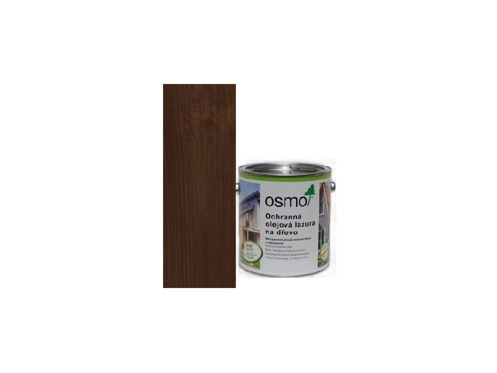 Osmo Ochranná olejová lazúra 0,75L 727 palisander