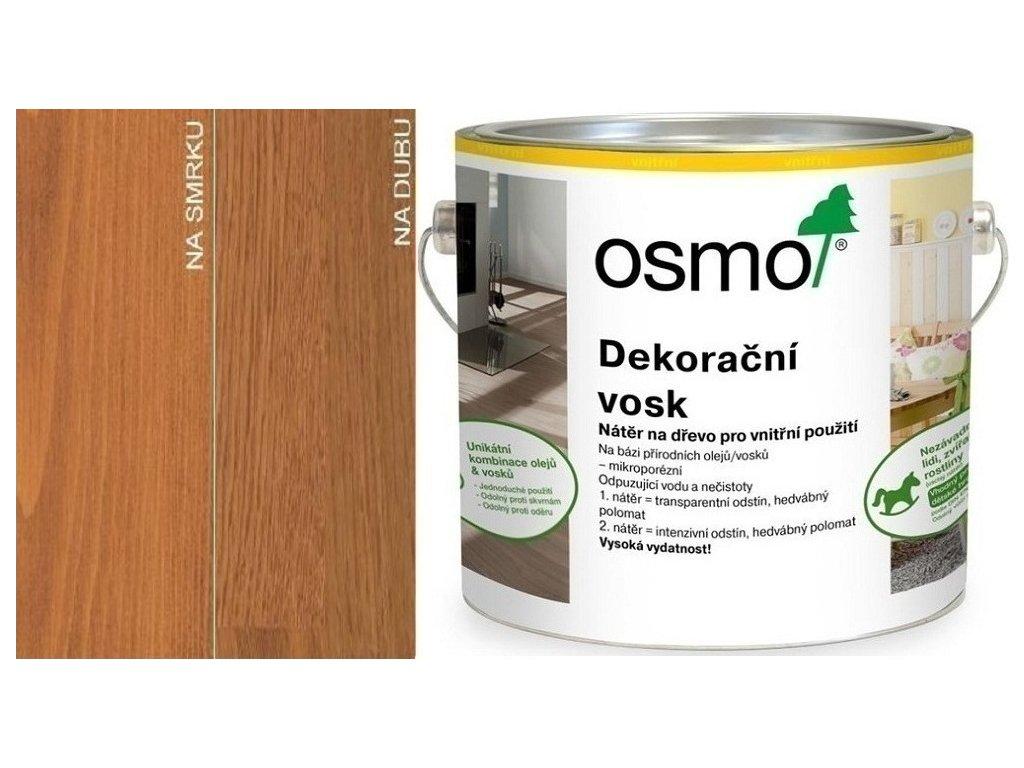Osmo Dekoračný vosk transparentný 2,5L 3137 Čerešňa  + darček v hodnote až 7,5 EUR