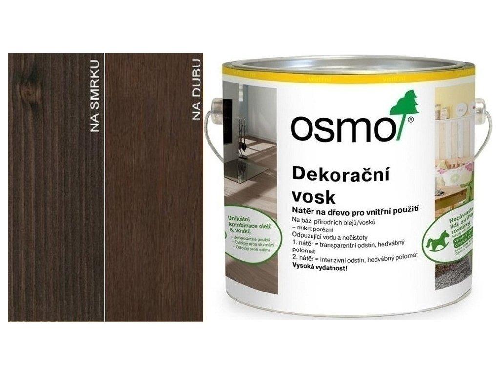 Osmo Dekoračný vosk transparentný 2,5L 3161 Ebenové drevo  + darček v hodnote až 7,5 EUR