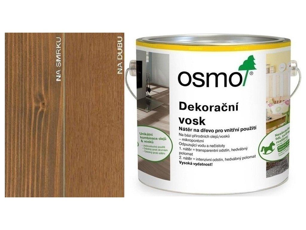 Osmo Dekoračný vosk transparentný 2,5L 3166 Orech  + darček v hodnote až 7,5 EUR
