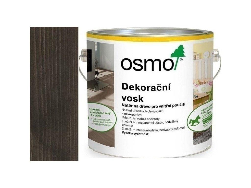 Osmo dekoračný vosk intenzívne odtiene 2,5L 3169 Čierna  + darček v hodnote až 7,5 EUR