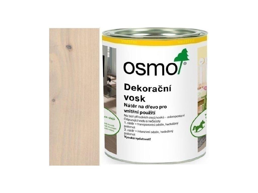 Osmo dekoračný vosk intenzívne odtiene 0,75L 3181 Kremeň