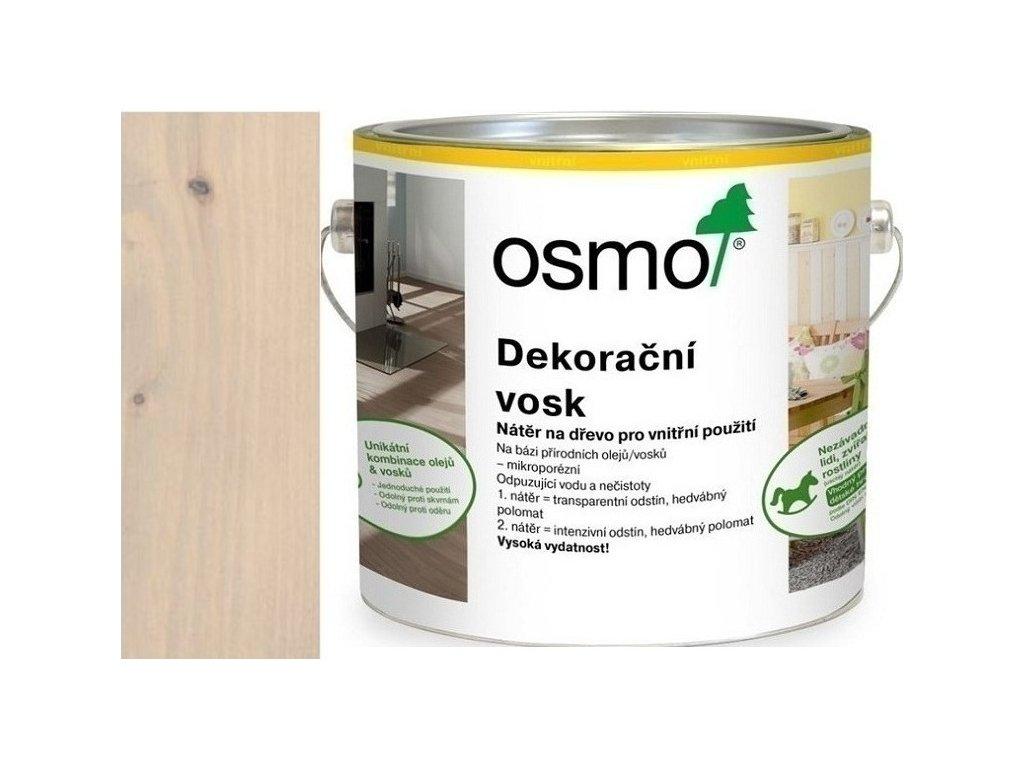 Osmo dekoračný vosk intenzívne odtiene 2,5L 3181 Kremeň  + darček v hodnote až 7,5 EUR