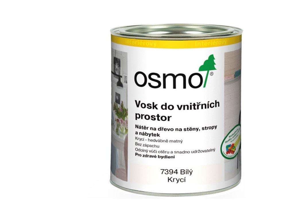 Osmo Vosk do vnútorných priestorov 2,5L 7394 Biely krycie  + darček v hodnote až 7,5 EUR