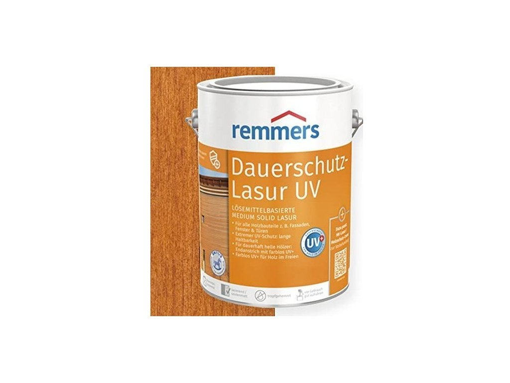 Dauerschutz Lasur UV (predtým Langzeit Lasur UV) 20L teak-teakové drevo 2251  + darček v hodnote až 7,5 EUR