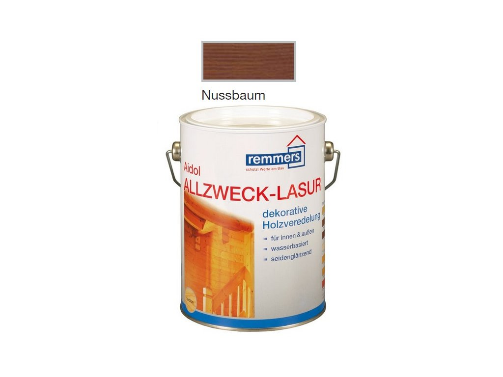 Remmers Allzweck-Lasur 5l Nussbaum  + darček podľa vlastného výberu