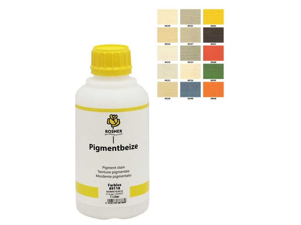 Rosner Pigmentbeize mořidlo 10 L (pro listnaté i jehličnaté dřeviny) (farební odtieň PIGMENTBEIZE 88490)