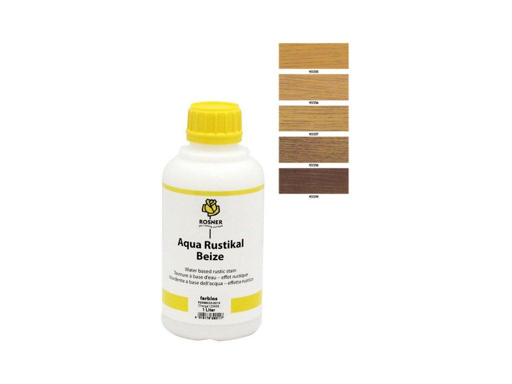 Rosner Aqua-Rustical Beize mořidlo 10 L (pro listnaté dřeviny) (farebný odtieň aqua rustical 93339)