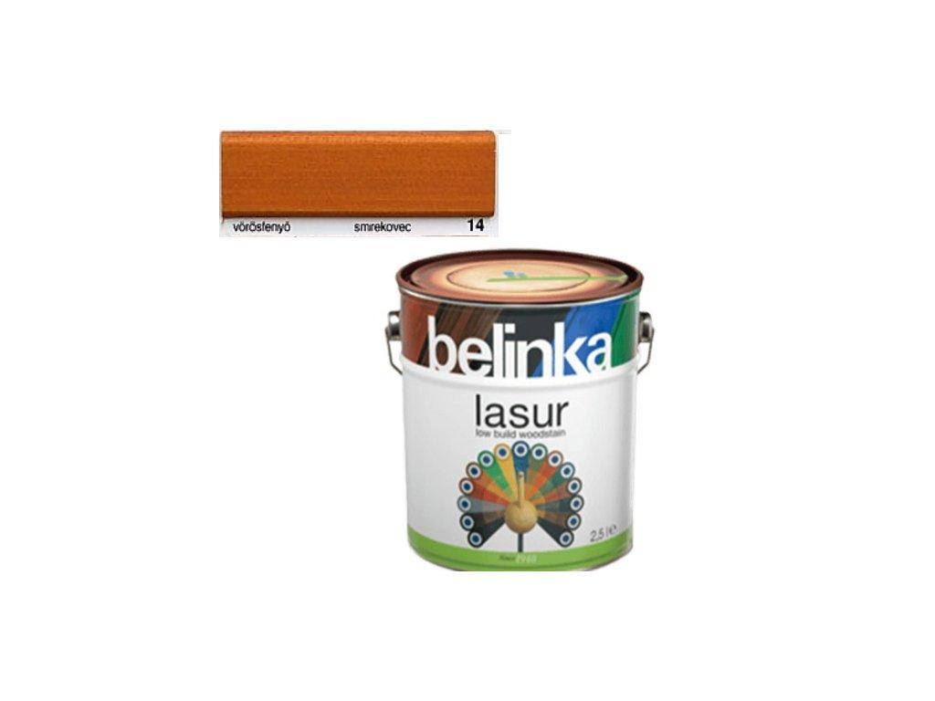 Belinka LASUR 14 smrekovec 0,75 L