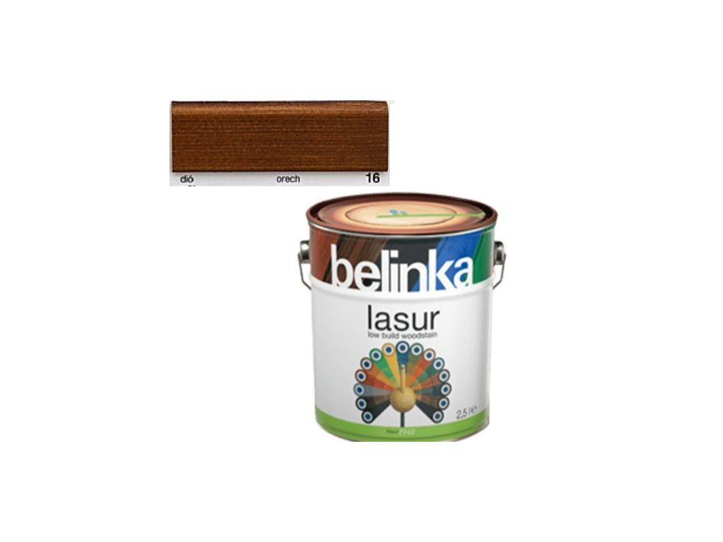 Belinka LASUR 16 orech 2,5 L