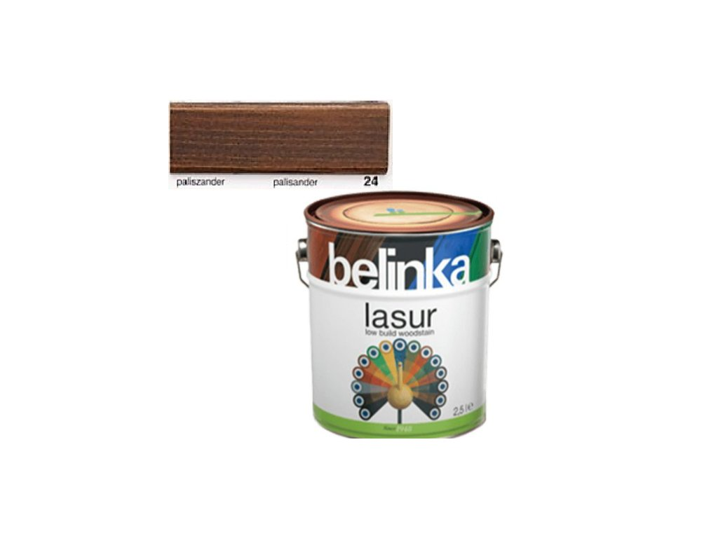 Belinka LASUR 24 palisander 5 L