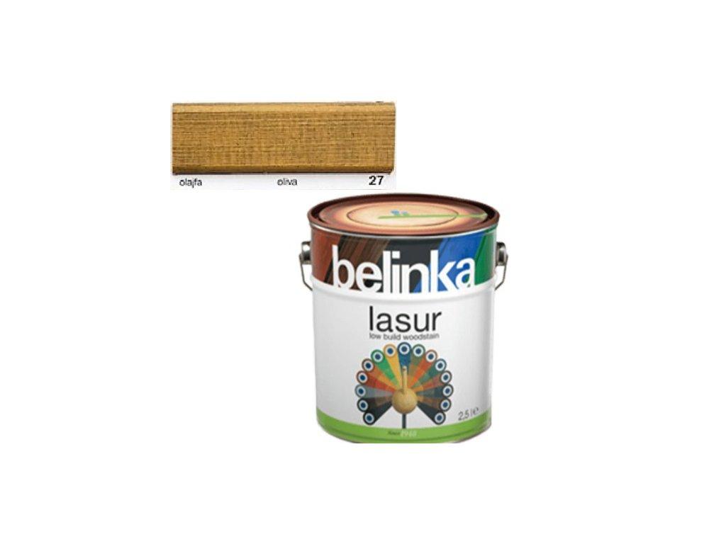 Belinka LASUR 27 oliva 0,75 L