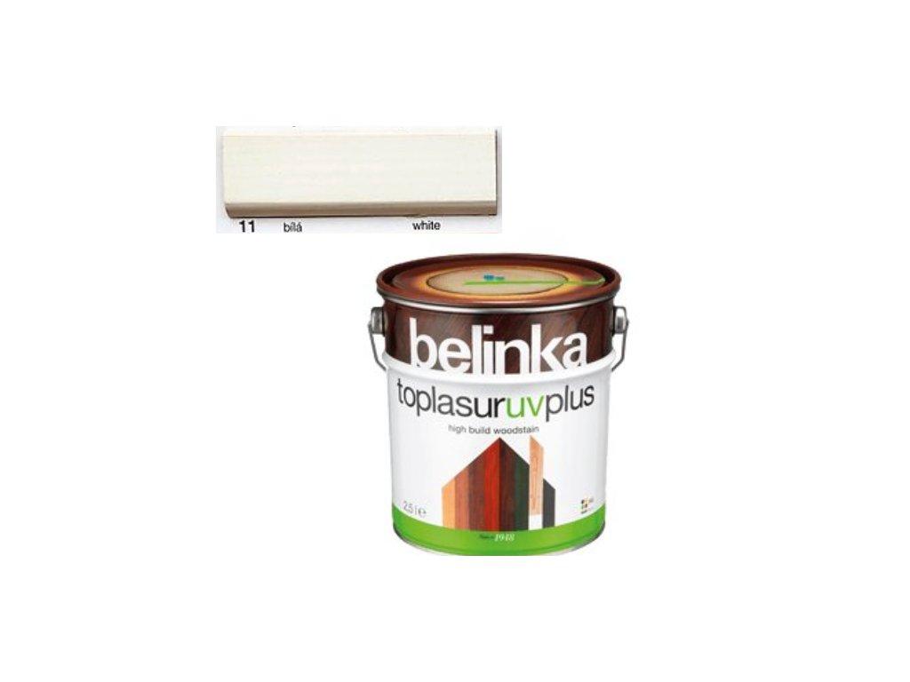 Belinka Toplasur UV PLUS 11 biela 5 L