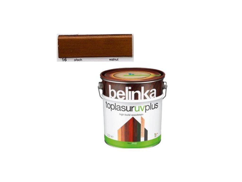 Belinka Toplasur UV PLUS 16 orech 10 L  + darček v hodnote až 7,5 EUR
