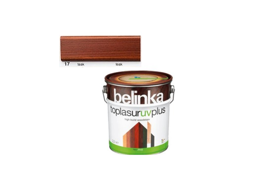 Belinka Toplasur UV PLUS 17 teak 10 L  + darček v hodnote až 7,5 EUR