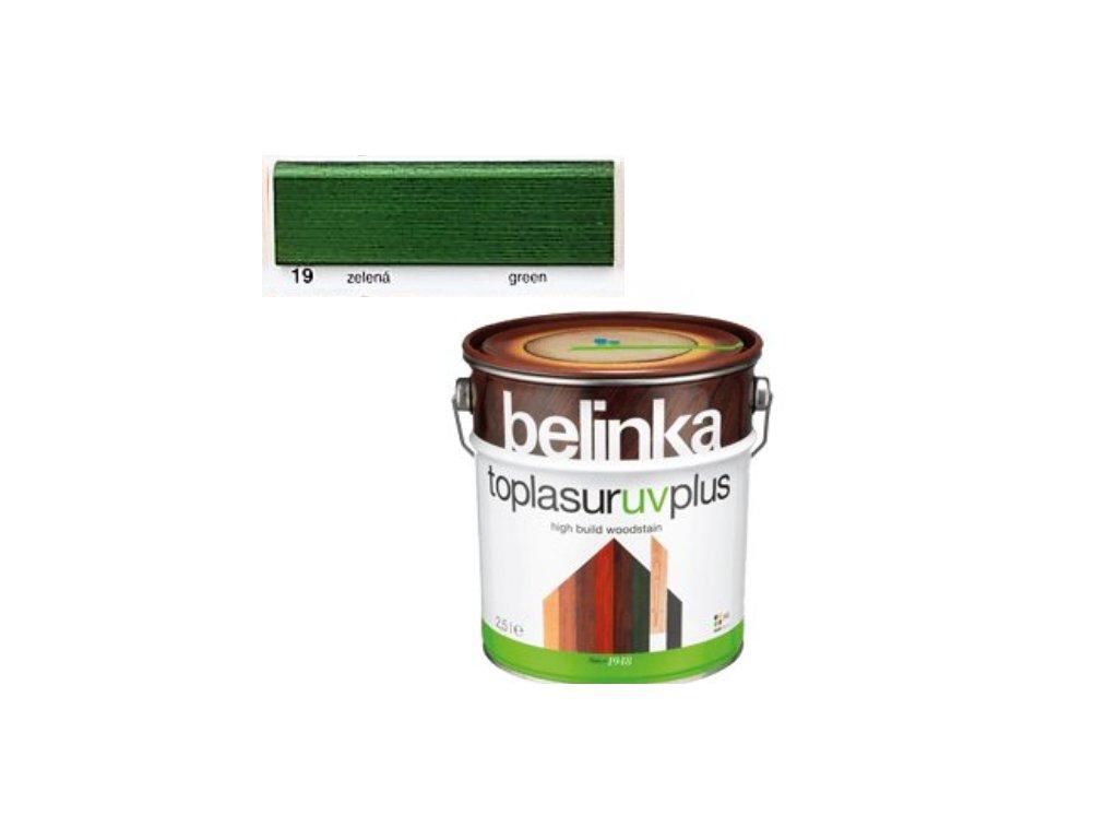 Belinka Toplasur UV PLUS 19 zelená 0,75 L