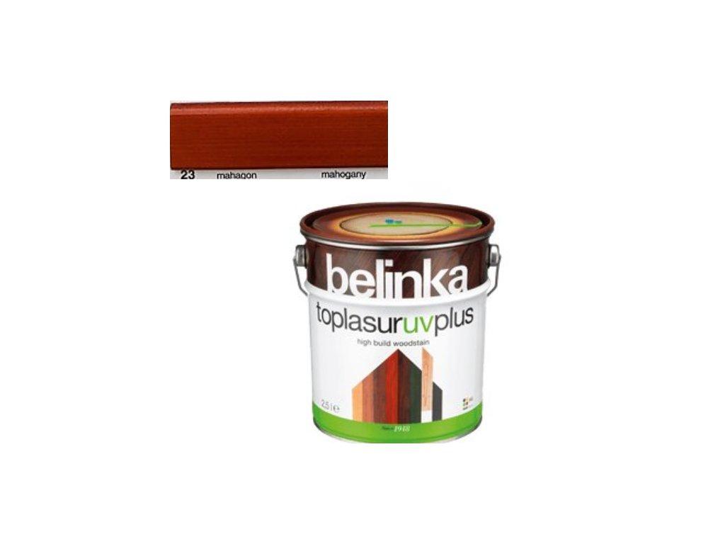 Belinka Toplasur UV PLUS 23 mahagón 10 L  + darček v hodnote až 7,5 EUR