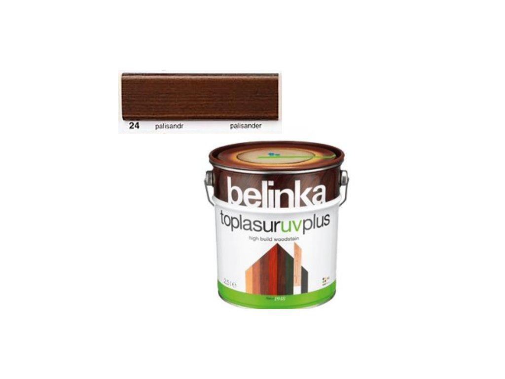 Belinka Toplasur UV PLUS 24 palisander 10 L  + darček v hodnote až 7,5 EUR