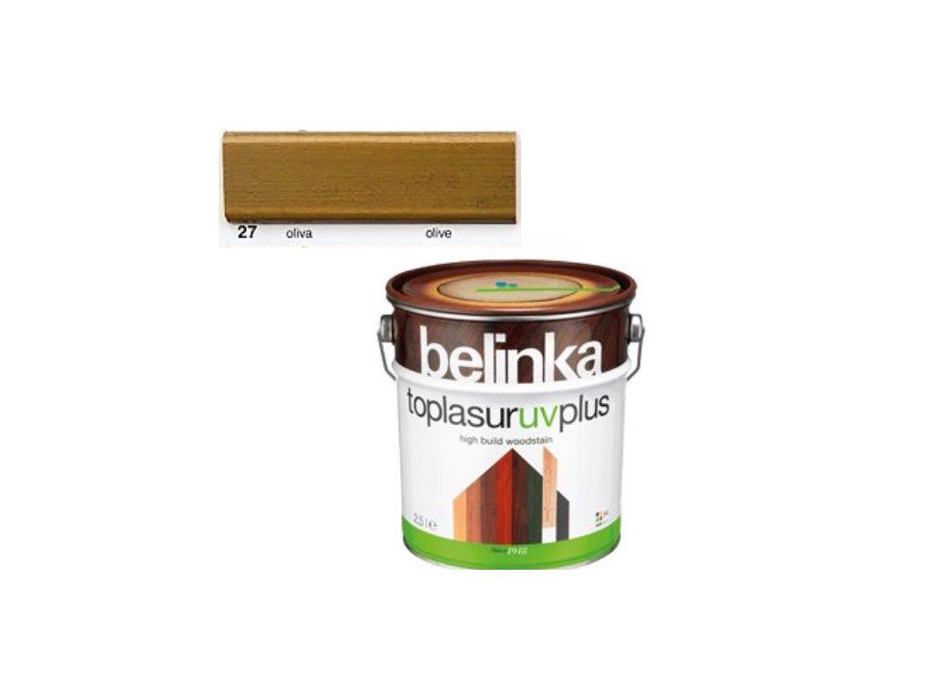 Belinka Toplasur UV PLUS 27 oliva 2,5 L
